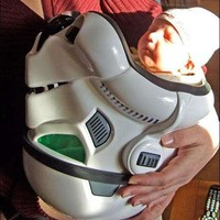 Star Wars Infant Slings - The Geeky Stormtroopers Baby Carrier for Your Little Droid