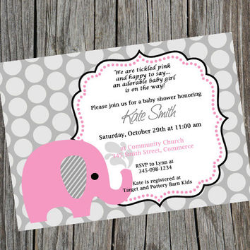 Shop Custom Baby Shower Invites On Wanelo