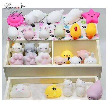 Slow Rising Squishys Antistress Kawaii Mochi Mini Animal Anti-stress Squishy Toy Healing Fun Stress Reliever Decompression Toy
