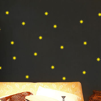 Star Wall Decal Set