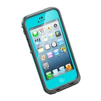 HESGI I0037 Waterproof Shockproof Dirtproof Snowproof Protection Case for Apple iPhone 5 - Light Blue