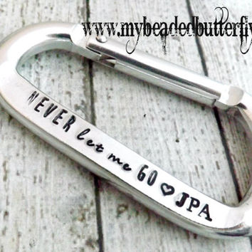 personalized keychain-carabiner-personalized carabiner-carabiner keychain-mens gift-mens keychain-personalized valentines day gift
