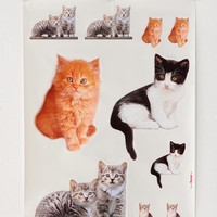 Urban Outfitters - Kitty Wall Decal - Set Of 3