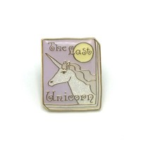 Book Pin: The Last Unicorn