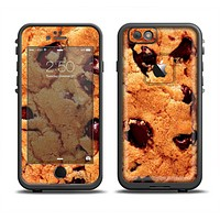 The Chocolate Chip Cookie Apple iPhone 6 LifeProof Fre Case Skin Set