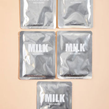 I Came, I Spa Sheet Mask Set in Milk