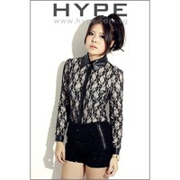 HYPE BOUTIQUE SINGAPORE ONLINE SHOPPING - Jenifer lace blouse creamy-white