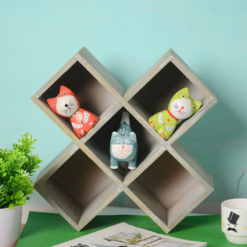 Decoration Wooden Storage Box Home Decor [6282562950]