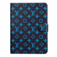 LV Monogram IPAD Protective Case - Blue