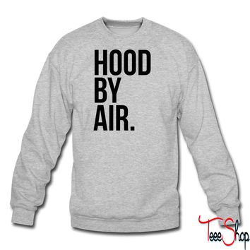Hood by air crewneck sweatshirt