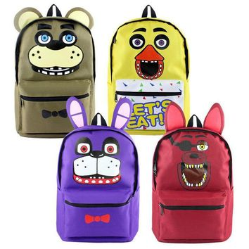 at Backpacks Children Cartoon Canvas School Backpack for Teenagers Men Women Bag Kids Mochila Laptop Bags