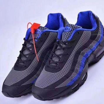 DCCKIG3 Nike Air Max 95 'Black/Gray/Blue' Men Sneaker