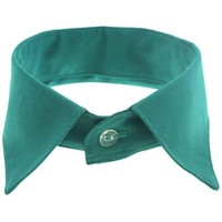 ROMWE | Classical Pointed Green Collar, The Latest Street Fashion