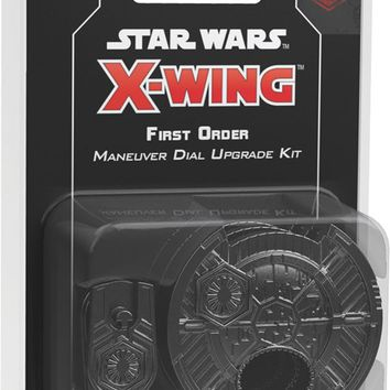 Star Wars X-Wing: 2nd Edition - First Order Maneuver Dial Upgrade Kit