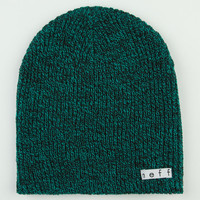 Neff Daily Heather Beanie Green One Size For Men 20587050001