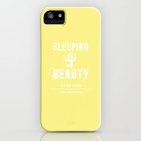 Disney Princesses: Sleeping Beauty Minimalist iPhone Case by Ofalexandra | Society6