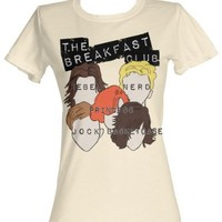 The Breakfast Club Sterotypes Womens T-Shirt XL