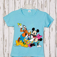 Mickey Mouse Iron on Patch Mickey Mouse embroidery applique add on Disney iron on patch Mickey Mouse iron on decals transfers sticker ikpa56