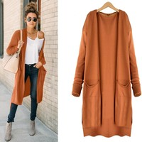 Long Cardigans with Pockets