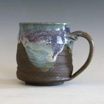 Coffee Mug, tea mug, handmade ceramic cup, handthrown mug, ceramic stoneware mug, pottery mug, unique coffee mug, ceramics and pottery