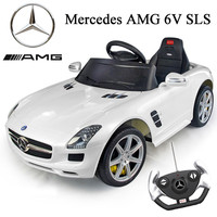 Official 6v Mercedes SLS AMG Ride-on Car with Remote - £189.95 : Kids Electric Cars, Little Cars for Little People