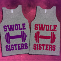 Swole Sisters Workout Tanks For The Gym