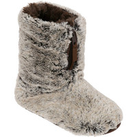 Dearfoams Pile Boot Slipper with Zipper