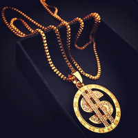 Shiny Gift Stylish Jewelry New Arrival Hip-hop Club Necklace [8439431619]