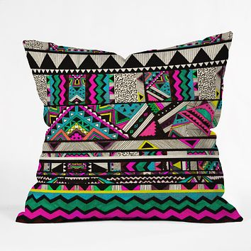 Kris Tate Fiesta 1 Throw Pillow