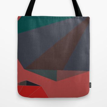 Shape Play 2 Tote Bag by Ducky B