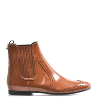 Antiqued-leather Chelsea boots | Balenciaga | MATCHESFASHION.COM