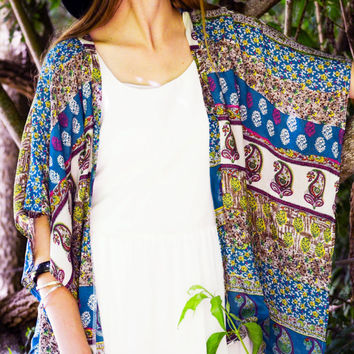 Best Turquoise Kimono Products on Wanelo