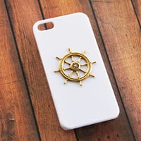Nautical Phone 6 Case iPhone 5 Nautical iPhone 5s Nautical iPhone 5c Nautical White iPhone 5 Case White iPhone 4s Case Gold iPhone 6 Plus