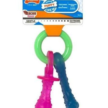 Nylabone Puppy Teething Pacifier Size: X-Small