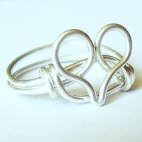 Sterling Silver Heart Ring Custom S.. on Luulla