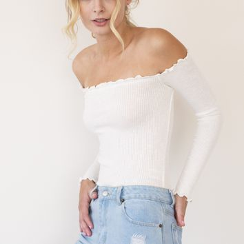 Selina Top - White
