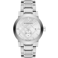 Burberry Check Stamped Stainless Steel Watch 42mm BU9900