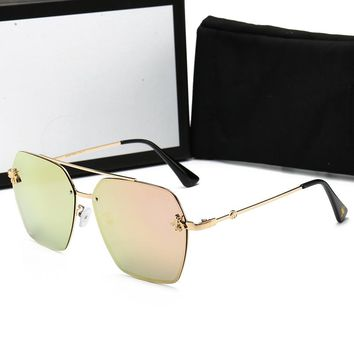 GUCCI Bees Sunglass for women men 0113