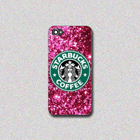 Sparkle Pink StarbuckS for iP4/4s, iPhone 5/5s/5c, samsung S3/S4, samsung S3/S4 mini, samsung note 2/3, htc one/one X, blackberry Z10