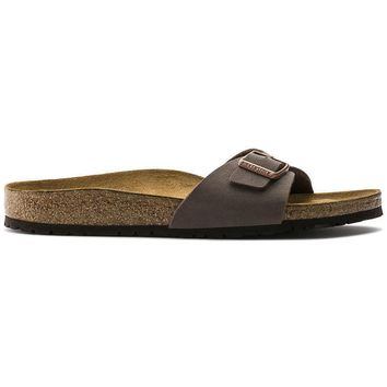 Birkenstock Madrid Birkibuc Mocha 0040091/0040093 Sandals - Ready Stock