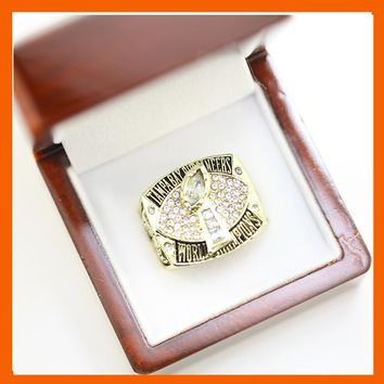 2002 TAMPA BAY BUCCANEERS SUPER BOWL XXXVII WORLD CHAMPIONSHIP RING US SIZE 11