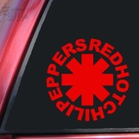 Red Hot Chili Peppers Vinyl Decal Sticker - Red - 6 inch size by ShadowMajik