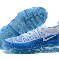 Nike Air Vapormax Flyknit 2 Photo Blue White shoe