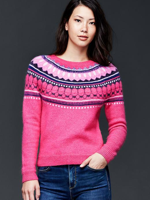 929f19785027 Gap Women Circular Fair Isle Sweater from Gap