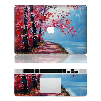 River bank - Macbook Full Decal Macbook Stickers Mac Decals Apple Decal for Macbook Pro Air / iPad / iPhone