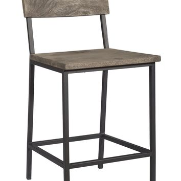 Set of 2 Counter Height Dining Chairs