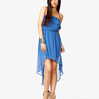 Flounced High-Low Dress   FOREVER21 - 2046127247
