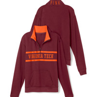 Virginia Tech Boyfriend Half Zip