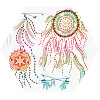 Dreamcatcher Hex Wall Decal