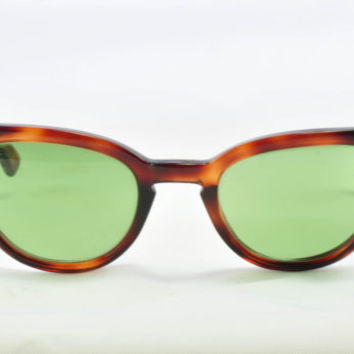 Vintage Cat Eye Glasses, Swan, Tortoise Classic Cat Shape